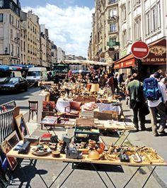 flea markets.