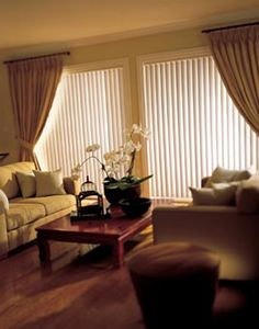 How To Make Sliding Doors With Vertical Blinds Look Good