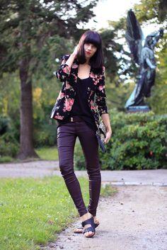 #fashion #fashionista Ricarda LULU*s vintage blazer CATS & DOGS fashion blog outfit 4