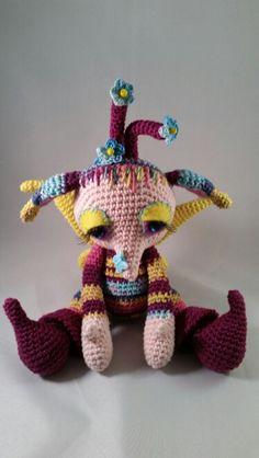 Whoopy pattern Crochessie by Esther Emaar