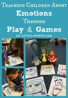 #ad  #InsideOutEmotions Teach emotions through play (and a fun game tutorial!)  Teaching Children About Emotions Through Play