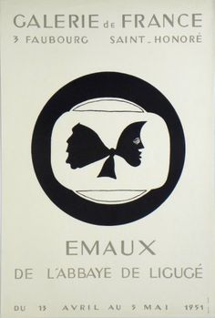 Plakat Georges Braque Affiche Georges Braque Plakat Georges Braque title EMAUX technology Original Lithograph