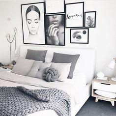 home decor habitacion Simple Style Co is one of Australias leading online stores specialising in Scandinavian designed homewares amp; Room Ideas Bedroom, Home Decor Bedroom, Girls Bedroom, White Bedroom Decor, Grey Bedroom Design, Bedrooms, Bedroom Simple, Interior Livingroom, Bedroom Inspo