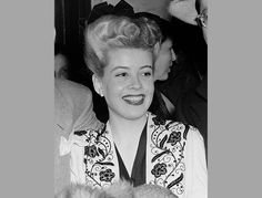 """Gloria DeHaven, the actress/singer who appeared is such film 1943's 'Best Foot Forward,"""" 1950's """"Summer Stock"""" and 1997's """"Out to Sea,"""" was born on this date in 1925. She died last year just five days after her 91st birthday. Photo courtesy of AP."""