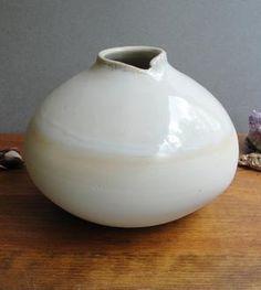 Medium White Bud Vase