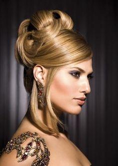 Modelos de penteados para festas, casamentos e formaturas