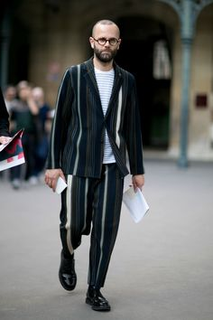 Best of Paris Men's FW Street Style