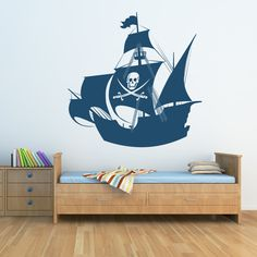 Pirate ship for the kid's room