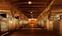 Gorgeous barn
