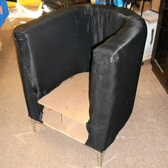 instructions how to make a diy tub chair creative. Black Bedroom Furniture Sets. Home Design Ideas