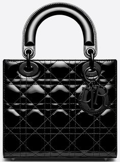 Lady Dior, Smooth Leather, Shoulder Strap, Studs, Handbags, Lace, Totes, Soft Leather