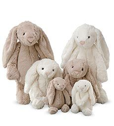 Bashful bunnies by Jellycat are too soft to unhug.