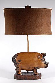 Crestview Pig Lamp