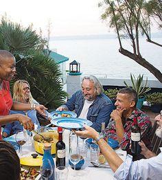 Dining Al Fresco in Marseille....Le Creuset Photo Shoot