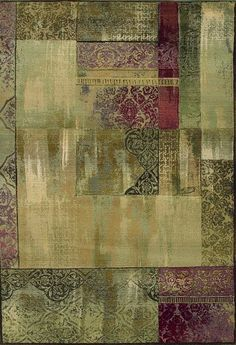 """Contemporary Area Rug, Sphinx by Oriental Weavers, Generations 1527X, 2'7""""x9'1"""