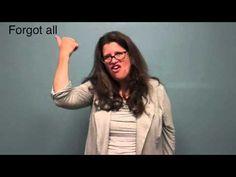 ASL 101 Study Guide Units 1 & 2