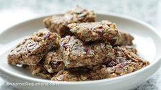 Balsamic Reductions Trailmix Granola Bars