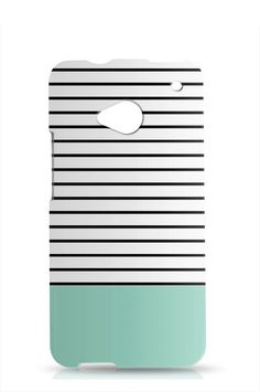 Hey, I found this really awesome Etsy listing at https://www.etsy.com/listing/191217035/stripes-htc-one-m7-teal-htc-one-m7