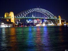 Sydney Harbour Bridge. Iconic indeed.