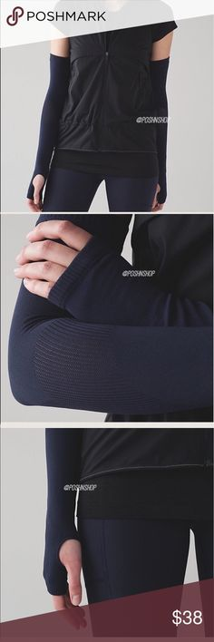 Lululemon High Speed Run Arm Warmers MDNI/NWT BEST TO BUNDLE FOR BETTER PRICING! Lululemon High Speed Run Arm Warmers MDNI/NWT M/L or XS/S ✅Photos from the Internet could vary slightly from the item that is being shipped. lululemon athletica Accessories