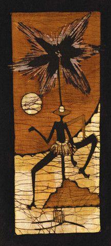 Batik II Art Print by Setsinala