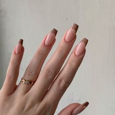 Edgy Nails, Funky Nails, Stylish Nails, Swag Nails, Funky Nail Art, Grunge Nails, Neutral Nails, Simple Acrylic Nails, Best Acrylic Nails