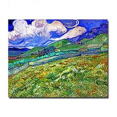 Hand-painted Famous Oil Painting with Stretched Frame by Van Gogh - OutletsArt.com