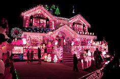 Pink Christmas Lights Tumblr Holiday miracles.