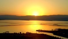 L'shanah tovah; Sunrise over Dead Sea; I took this photo from 11th floor balcony; David Dead Sea Resort & Spa on August 23, 2016; Main Road, Ein Bokek 8693000, Israel