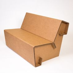 Cardboard Furniture for the Urban Nomad. In the office, at the trade show, or at home, we innovate your space with affordable, easy to assemble & eco-friendly furniture. Cardboard Chair, Diy Cardboard Furniture, Cheap Patio Furniture, Paper Furniture, Cardboard Design, Cardboard Crafts, Upcycled Furniture, Cardboard Playhouse, Furniture Nyc