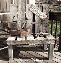 #Pallet Bench - http://www.dunway.com