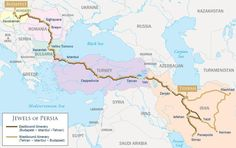Image result for train route map persian