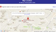 Dr Nancy's Homeopathic Clinic Sector-23 Gurgaon on Google Map