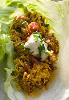 Turkey Taco Lettuce Wraps!! Nothing is better than low calorie Mexican! |skinnytaste.com