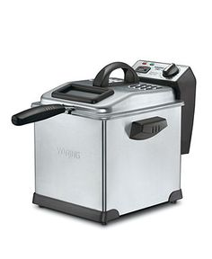 Waring DF175 Deep Fryer, 3L Digital - Electrics - Kitchen - Macy's