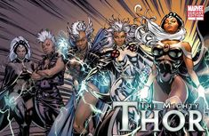 Storm X-Men Evolution Variant | Asgardian Storm