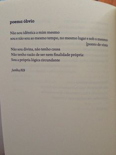 Ana Cristina cesar. Poética