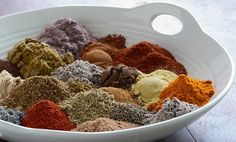 The Moroccan spice blend combines over 30 of the best spices to create an aromatic addition to grains, meats, soups, or adventurous desserts.