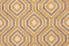 Hamilton Soho Velvet Patterned Upholstery Fabric in Mica $43.95 per yard