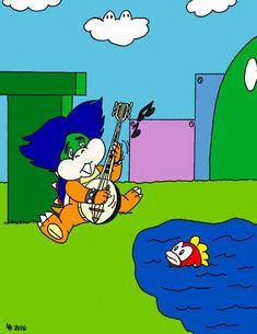 Super Mario World, Peanuts Comics