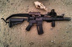 Big Guns, Cool Guns, Striker Fired, Gun Quotes, Jay Rock, Ar 15 Builds, Ar Pistol, Deadshot, Custom Guns