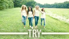 """1 Girl Nation covers """"Try"""" by Colbie Callait. Well shot video + great vocal arrangement."""