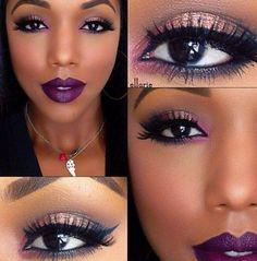 Ms. Ellarie... beautiful makeup