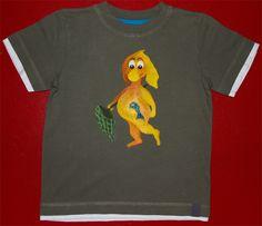 T-Shirt bemalen: Fang den Fisch