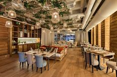 La puesta en escena del restaurante Perrachica en Madrid es impresionante