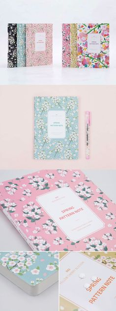 Express the coming of the season with the Spring Pattern Lined Notebook! This is a gorgeous notebook with beautiful illustrations of flowers to get you in the mood!