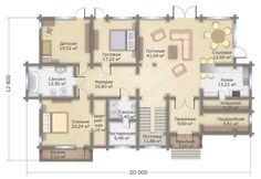 Дом в Тюмени 353 м² - строительство под ключ от GOOD WOOD