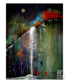 Night Falls Giclee Print by Ruth Palmer at Art.com