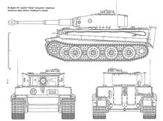 tiger tank Schematic