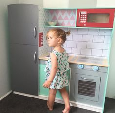 Cute Colours - the best hacks of the Kmart Kids Kitchen.